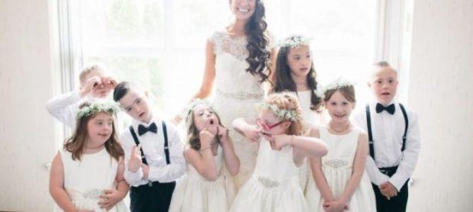 Historia nauczycielki, która postanowiła zaprosić swoich specjalnych uczniów na ślub