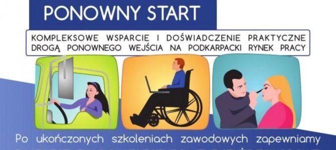 Program Ponowny Start – kompleksowe wsparcie dla osób bezrobotnych
