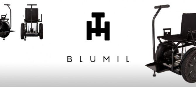 BLUMIL – nowość w dziedzinie wózków inwalidzkich
