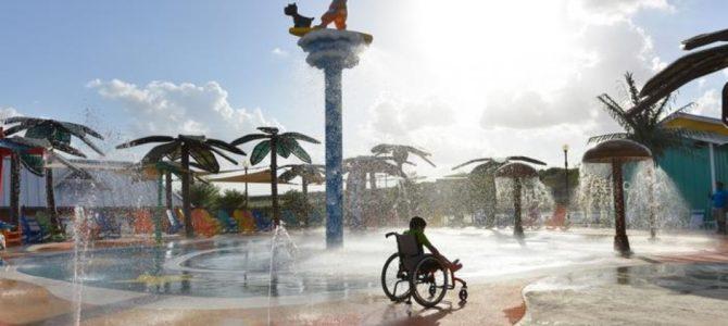 Pierwszy na świecie park wodny dla niepełnosprawnych [DUŻO ZDJĘĆ]