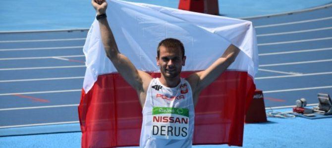 Sprintem po medale – Michał Derus Paraolimpijczyk