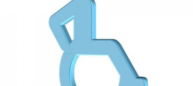 Części z konsolowego zestawu użyte do wózka inwalidzkiego