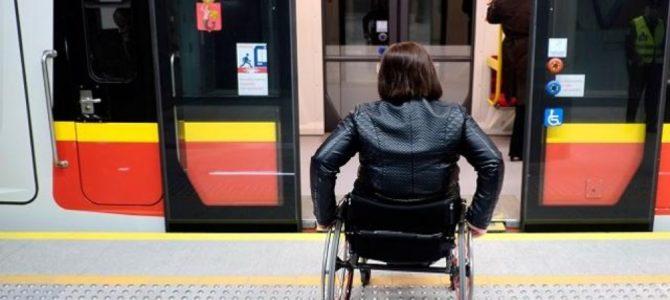 Dzień Integracji w metrze wobec osób z niepełnosprawnością