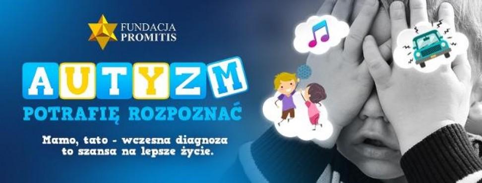 plakat kampanii o autyzmie