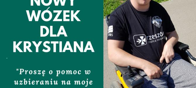 Zbiórka na wózek dla Krystiana