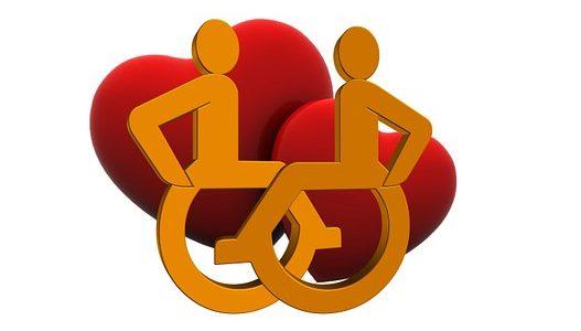 Seks osób niepełnosprawnych