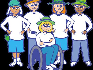 Zachowania ludzi  wobec osób niepełnosprawnych