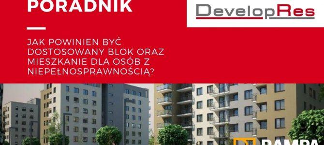 Jak powinien być dostosowany blok oraz mieszkanie dla osób z niepełnosprawnością?