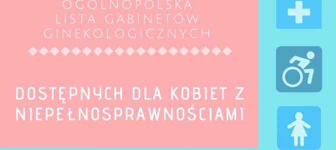 Dostosowane gabinety ginekologiczne – zgłoś do listy