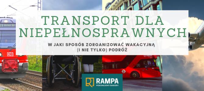 Transport dla niepełnosprawnych – PORADNIK