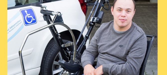 Osoby niepełnosprawne mogą sobie dobrze radzić – pierwszy Rampowicz Krystian