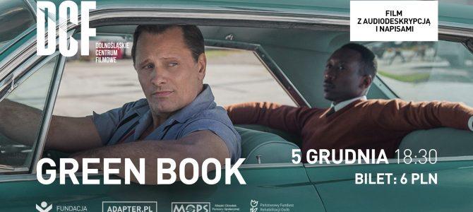 """ADAPTER w DCF. Zapraszamy na pokaz filmu """"Green Book"""" w Dolnośląskim Centrum Filmowym"""