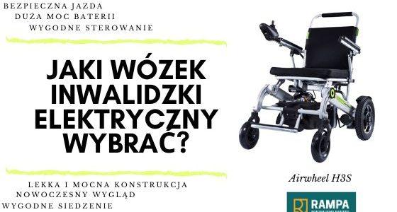 Wybieram wózek inwalidzki elektryczny Airwheel H3S