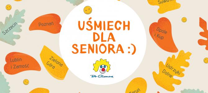 """Uśmiech dla seniora od Fundacji """"Dr Clown"""" 14 listopada w 14 miastach"""