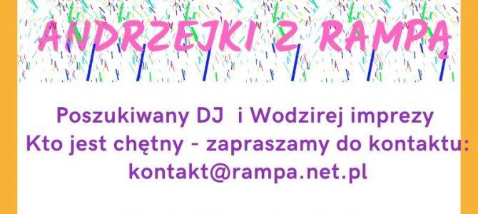 Szukamy DJ i Wodzireja imprezy na Andrzejki z Rampą