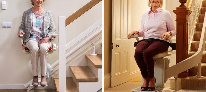 Krzesełka schodowe dla osób starszych i niepełnosprawnych