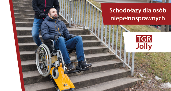 Schodołazy dla osób niepełnosprawnych