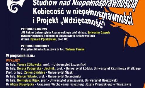 Kobiecość a niepełnosprawność – zaproszenie do dyskusji na Uniwersytecie Rzeszowskim