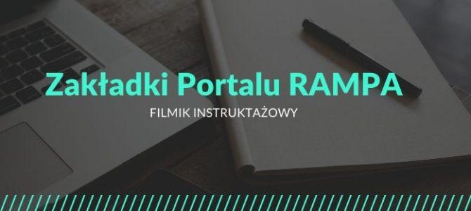 Instrukcja korzystania z Portalu RAMPA #1