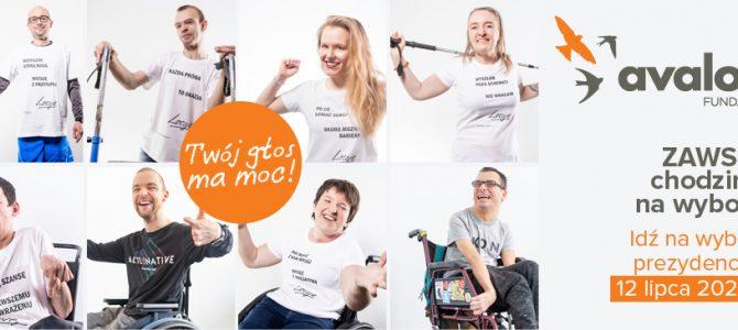 Osoby z niepełnosprawnościami namawiają do głosowania