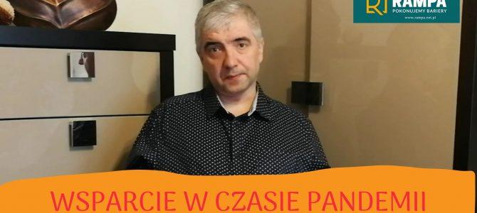 Covid-19 – O wsparciu i pomocy Rampowicz Grzegorz