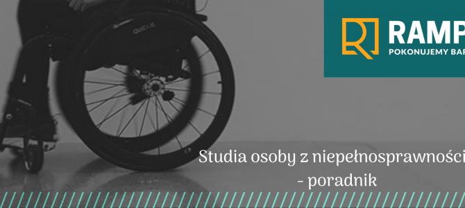 Studia osoby z niepełnosprawnością -poradnik