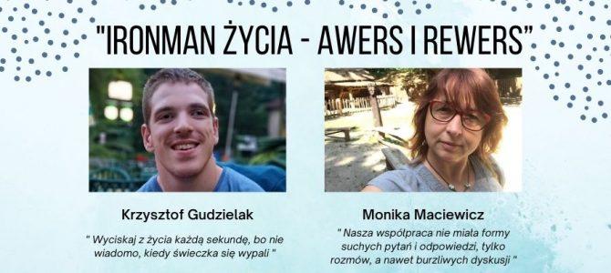 """""""Ironman życia – awers i rewers"""" – rozmowa z autorami ksiązki"""